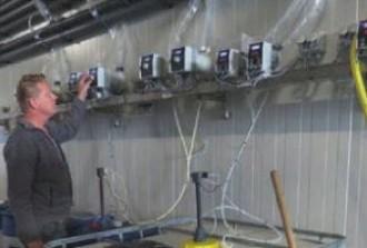 Artikel in Waterforum over geautomatiseerde watervoorziening bij Boon-Breg Andijk