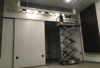 Celbevloeiing vanaf het plafond